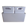 Signature Storage Bin - White