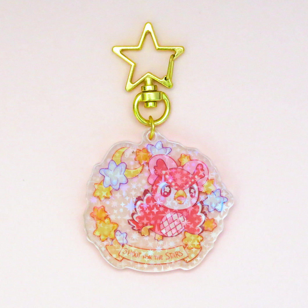 Shoot for the Stars Acrylic Charm