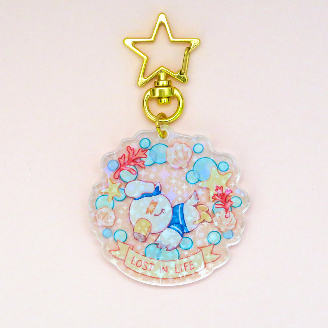 Lost in Life Acrylic Charm