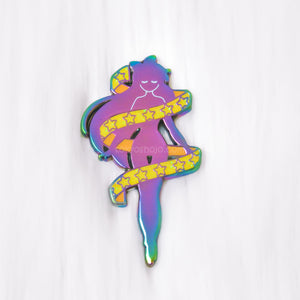 Magical Transformation Starry Yellow Pin