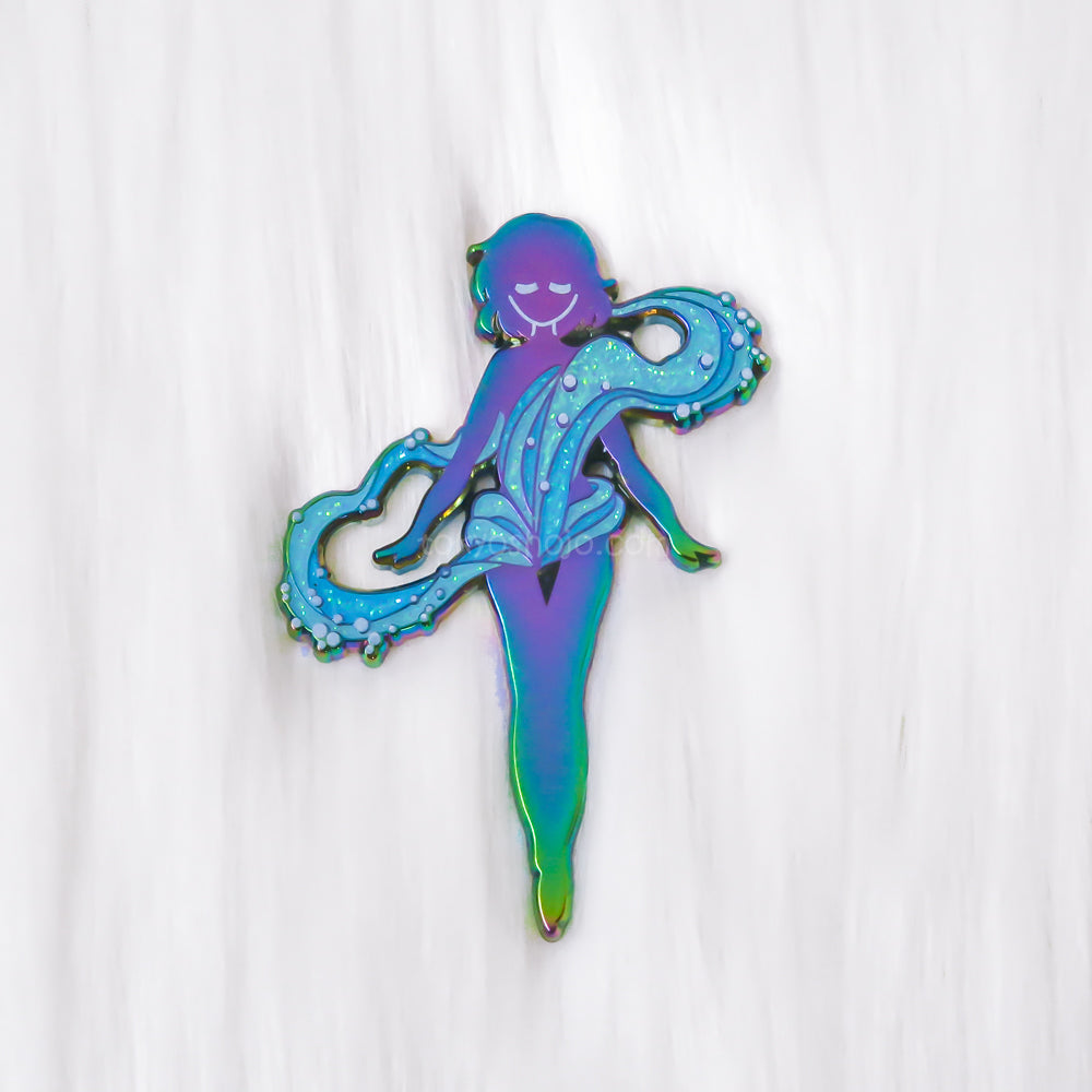 Magical Transformation Bubble Blue Pin