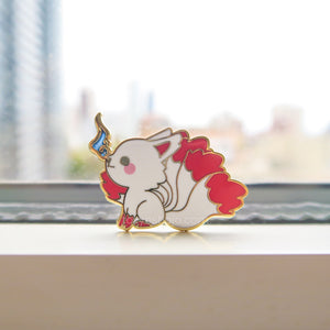 Kyubi no Kitsune - Nine Tailed Fox Pin