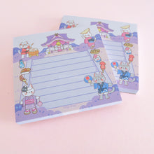 "Load image into Gallery viewer, Neko Matsuri 3""x3"" Notepad"