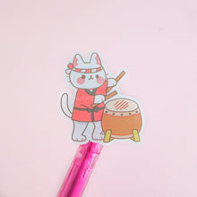 Load image into Gallery viewer, Neko Matsuri Vinyl Stickers