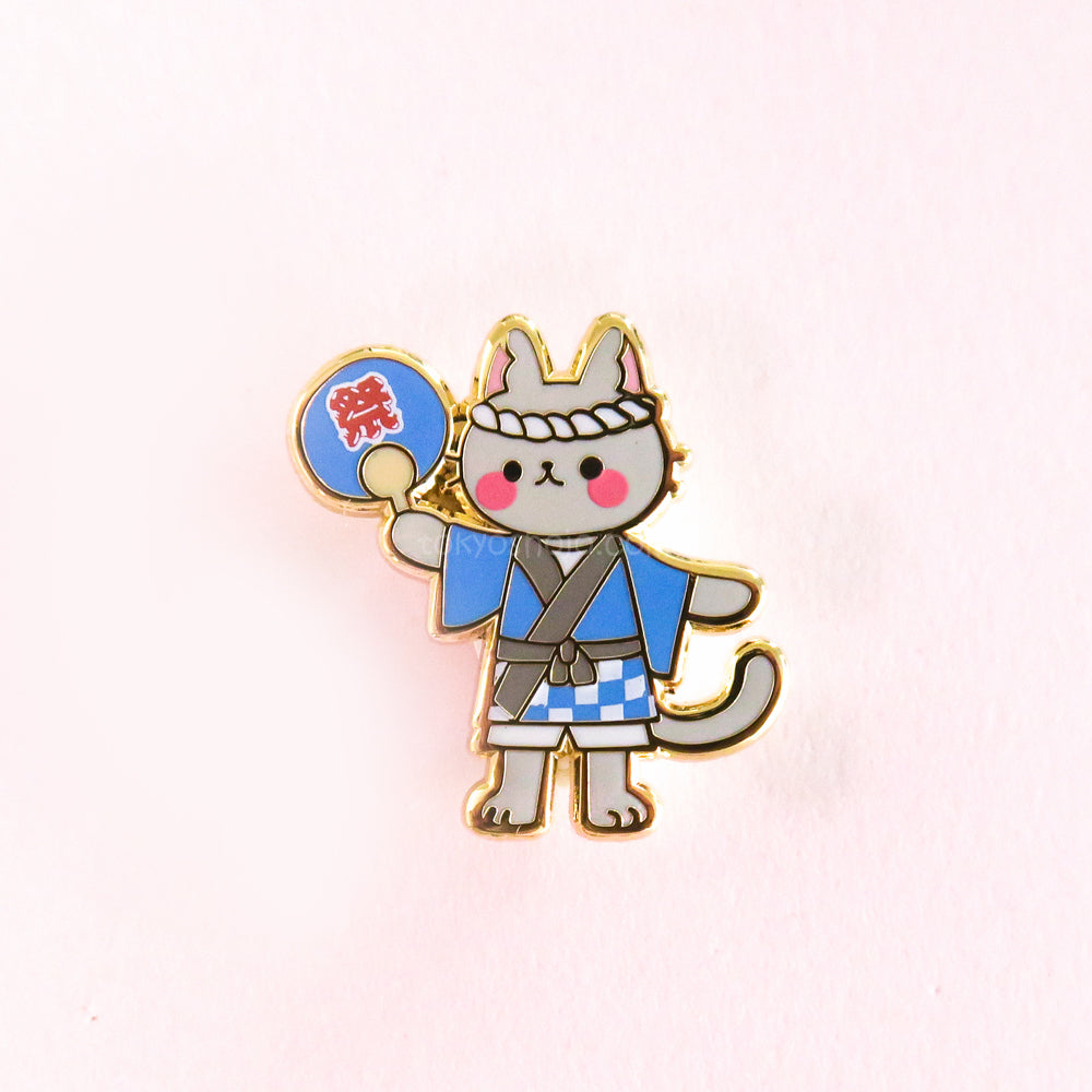 Happi Cat Pin