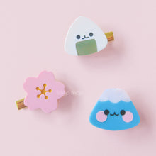 Load image into Gallery viewer, Onigiri-kun Hair Clip