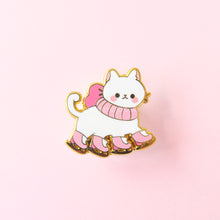 Load image into Gallery viewer, Skate Cat Pin