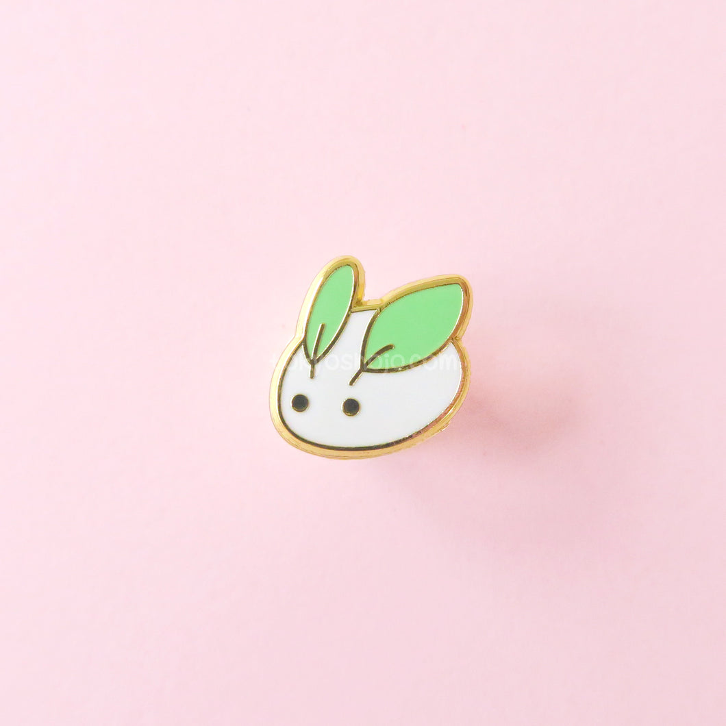 Mini Snow Bunny Pin