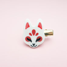 Load image into Gallery viewer, Kitsune Mask Hair Clip