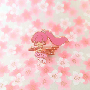 Sakura Mermaid Enamel Pin