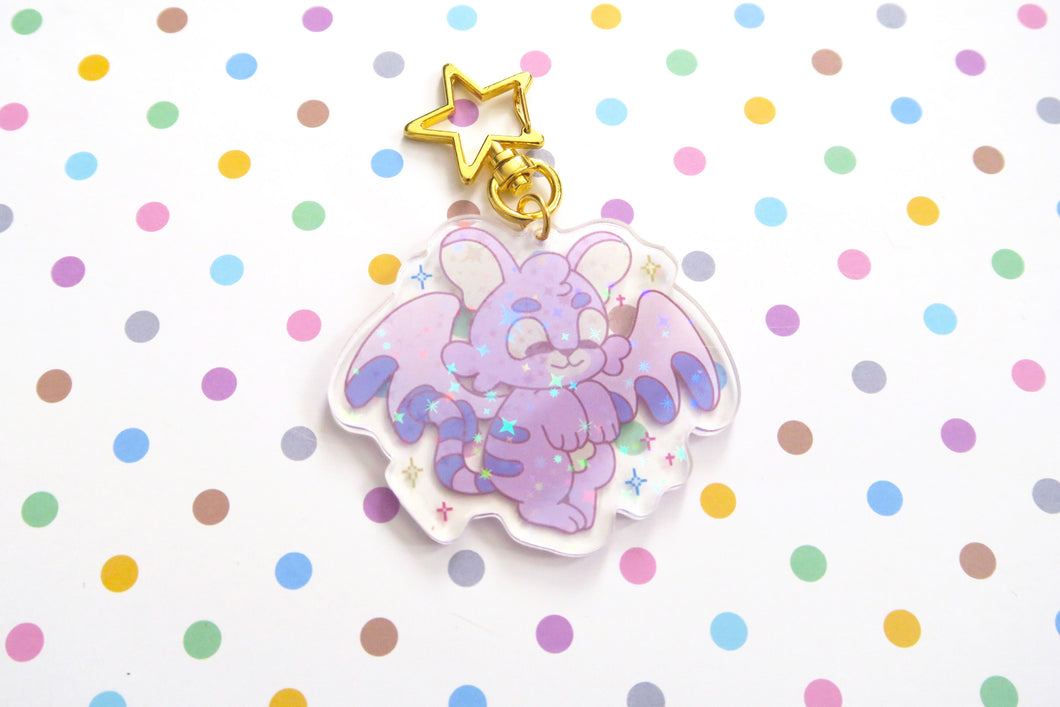 Virtual Pets Holo Acrylic Charms