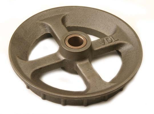Corner wheel complete with  bearing