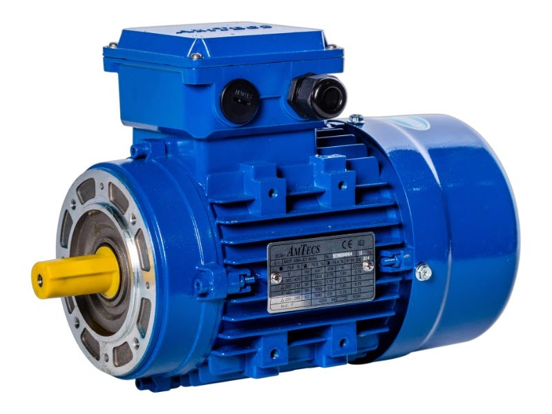 Motor VDL Fittra Pan Line, mounts directly onto Gearbox with a dry joint, 0.55kW, 3 Phase, 4 Pole