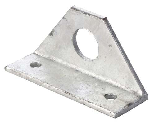 Bracket deflector f post 50 x 75 x 6 (35mm Hole)