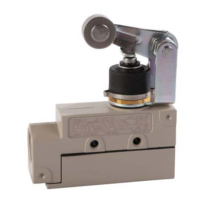 Omron roller arm switch for older D5G. is cream in colour