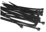 300mm x 4.8mm Cable Tie - Black - Packs of 100