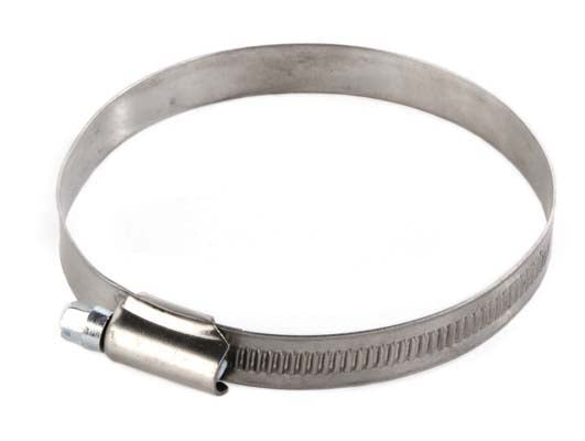 70-90mm Stainless Steel Worm Drive Hose Clips for 75mm Auger