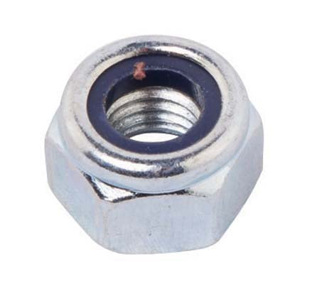 M6 Stainless Steel Nyloc Low profile Nut