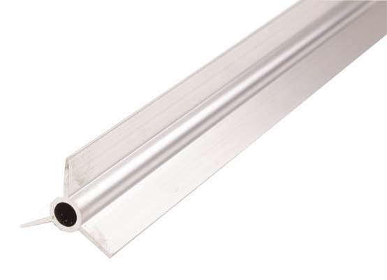 Rollerbar universal to fit pan feeder with 45mm O/D tube. 3 pieces per 10ft(3048mm) tube