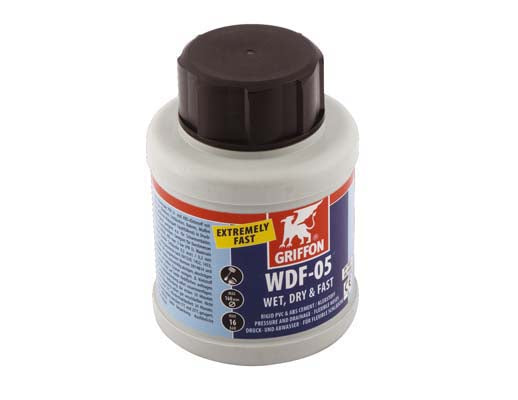 Glue WetRdry - Griffon WDF-05 250ml, suitable for damp conditions, very fast curing.