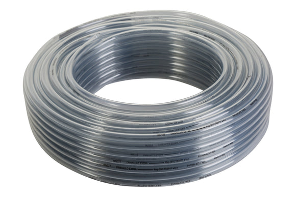 Clear PVC Hose 13x19mm - 50 metre Roll