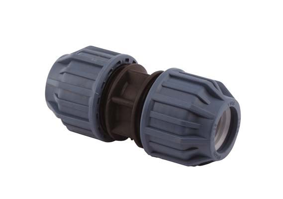 20mm x 20mm Compression Coupler, Compression x Compression