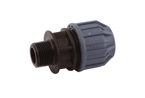 "25mm x ½"" Compression Adaptor, Compression x Male thread"