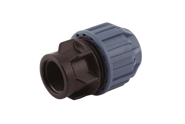 "25mm x ¾"" Compression Adaptor, Compression x Female thread"