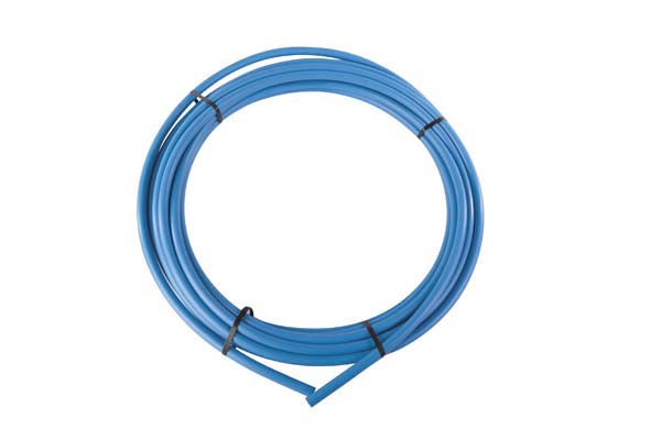 Blue MDPE Pipe 32mm x 25mtr coil