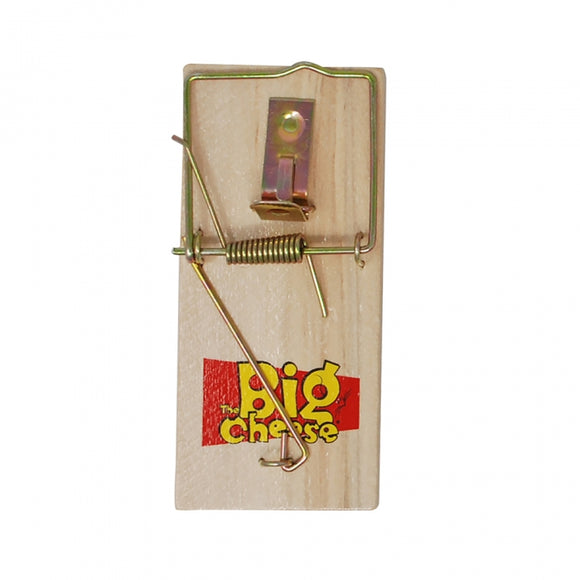 Big Cheese Wooden Mouse Trap - 4 Pack
