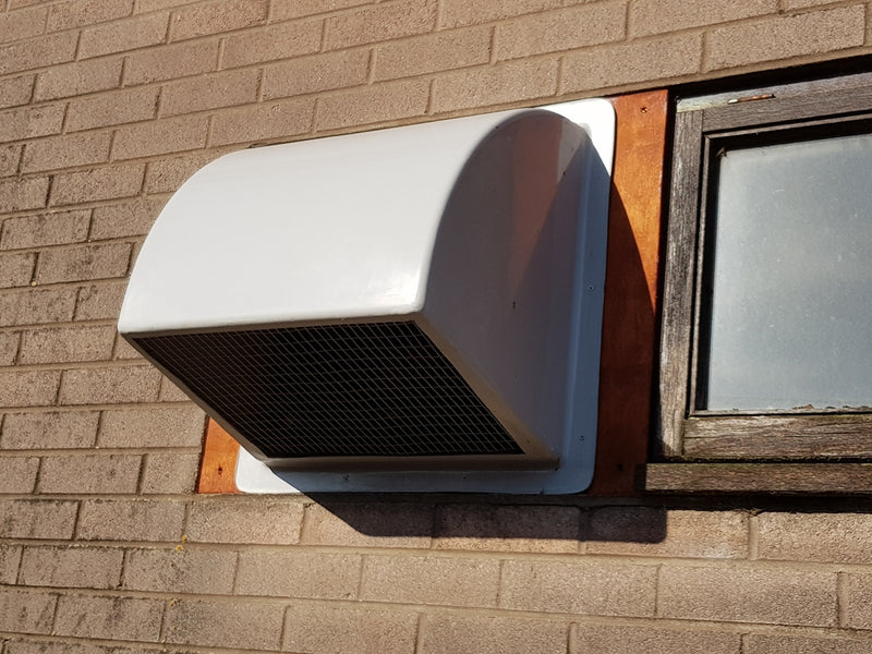 Wall Cowl for 450 & 500mm Fans - GRP