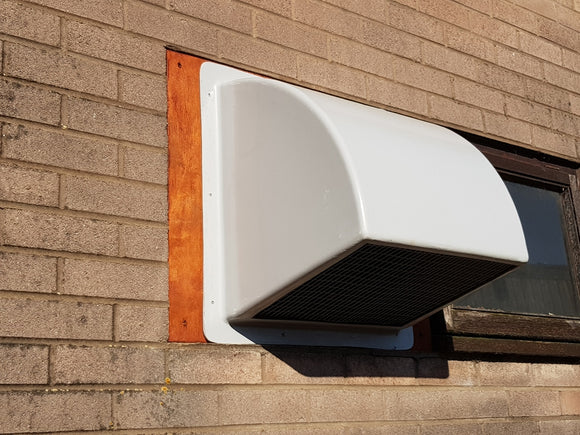 Wall Cowl for 560 & 630mm Fans - GRP