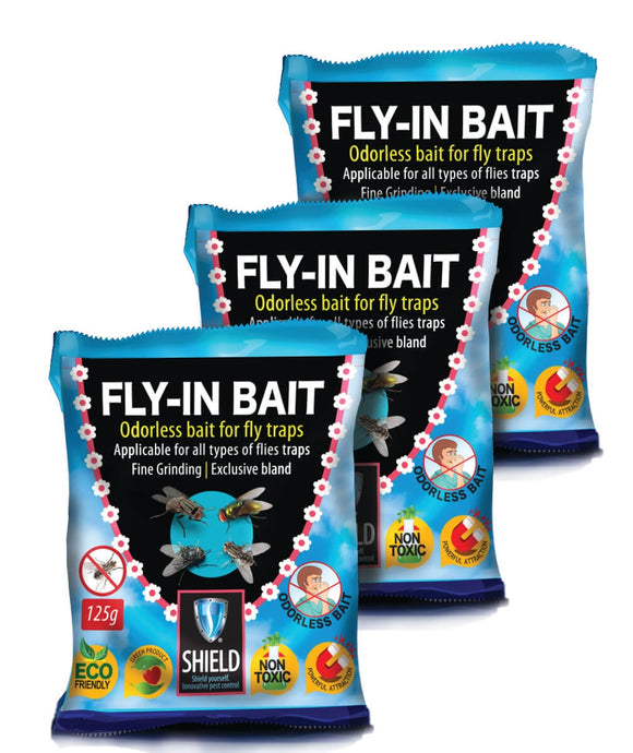 Fly In Fly Bait Bag 125g - Odourless
