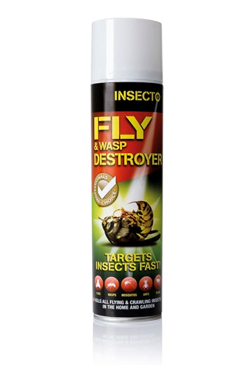 INSECTO Fly & Wasp Destroyer 300ml Aerosol