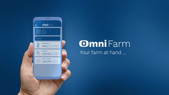 Omnifarm iDOL 63 - The game changer for farm climate monitoring