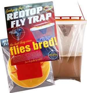Redtop fly control