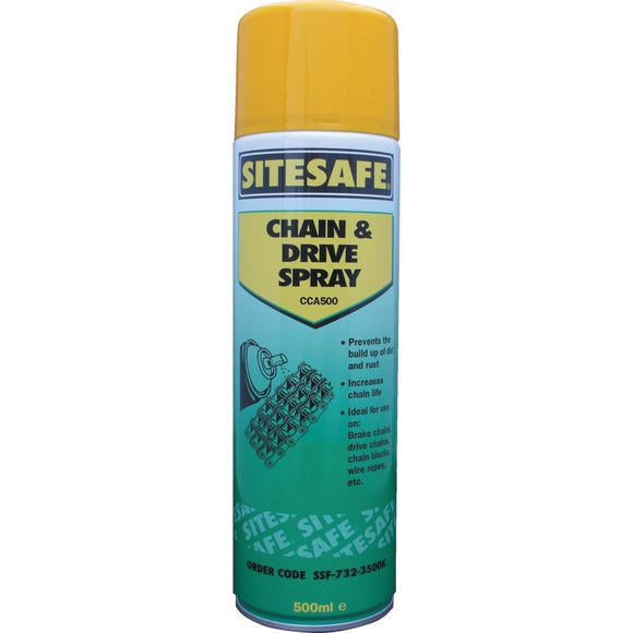 Chain & Drive Spray Grease - 500ml