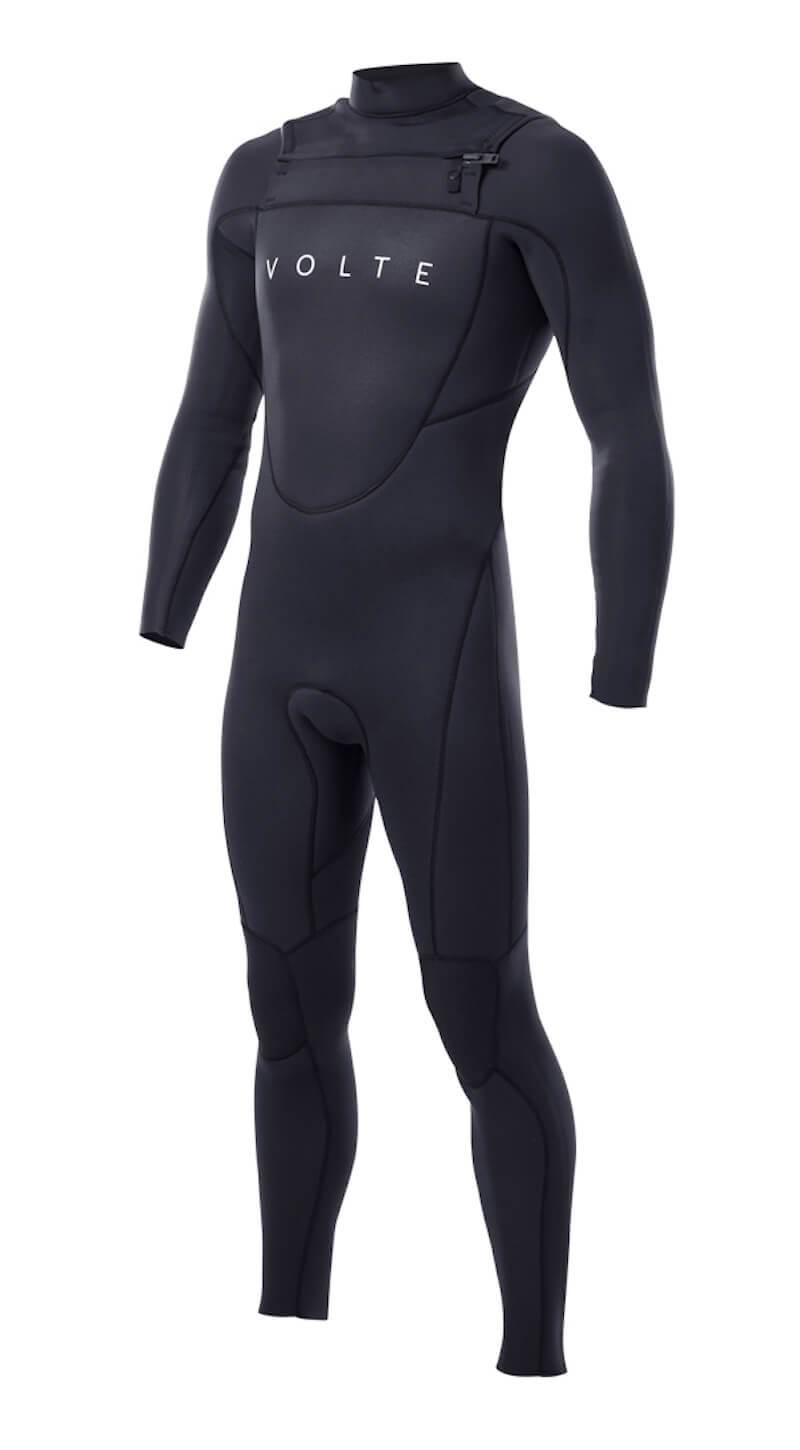 Youth Vital 3x2 Chest-Zip Steamer - Volte Wetsuits Australia