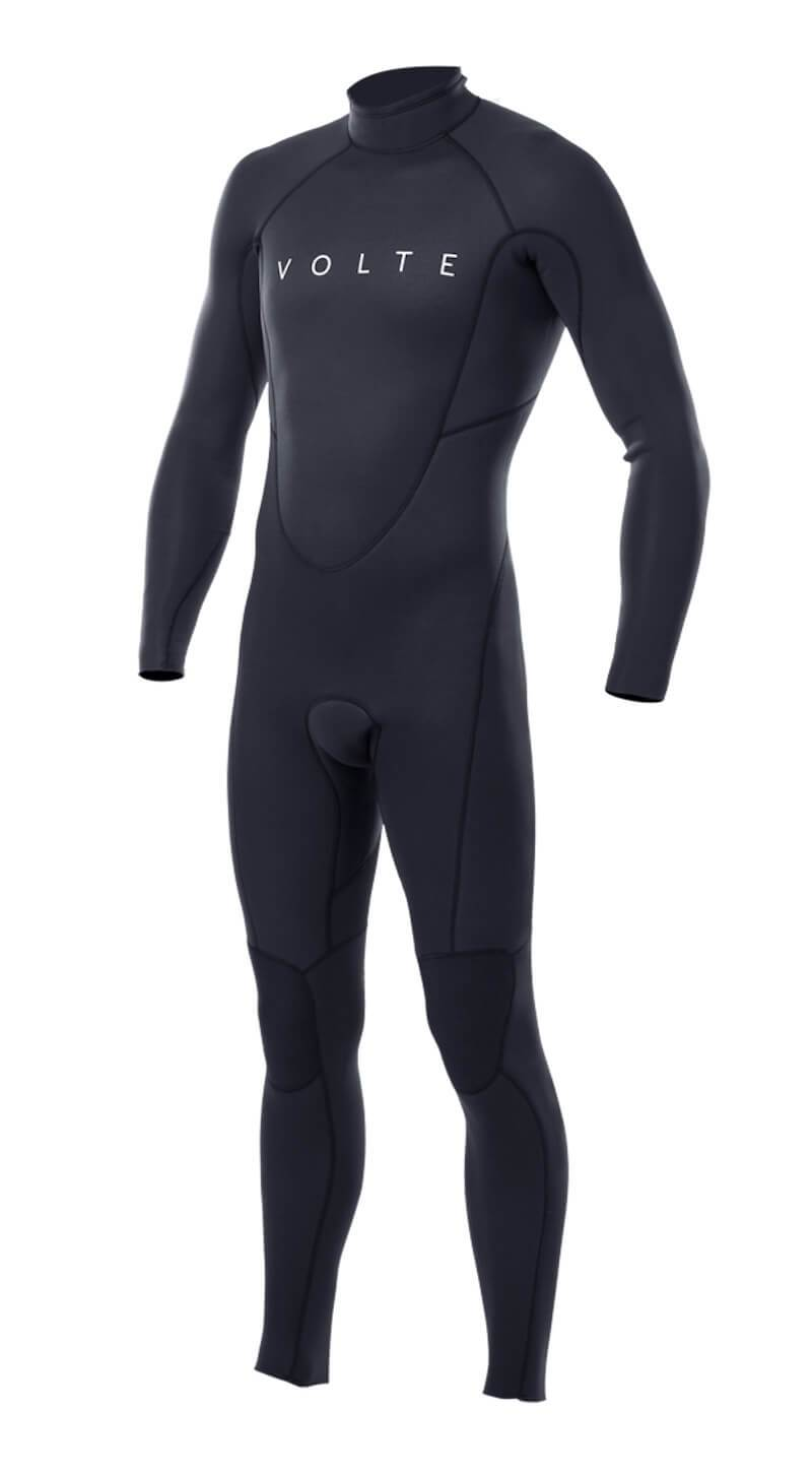 Youth Vital 3x2 Back-Zip Flatlock Steamer - Volte Wetsuits Australia