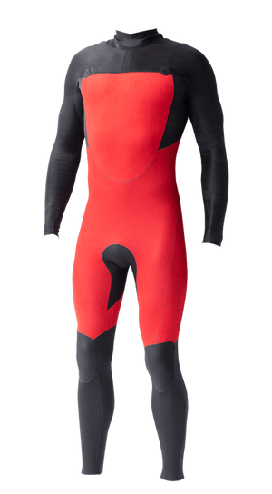 Mens Vital PLUS  3x2 Chest-Zip Steamer - Volte Wetsuits Australia
