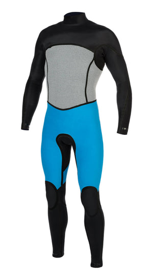 Mens Supreme 3x2 Chest-Zip Steamer - Volte Wetsuits Australia