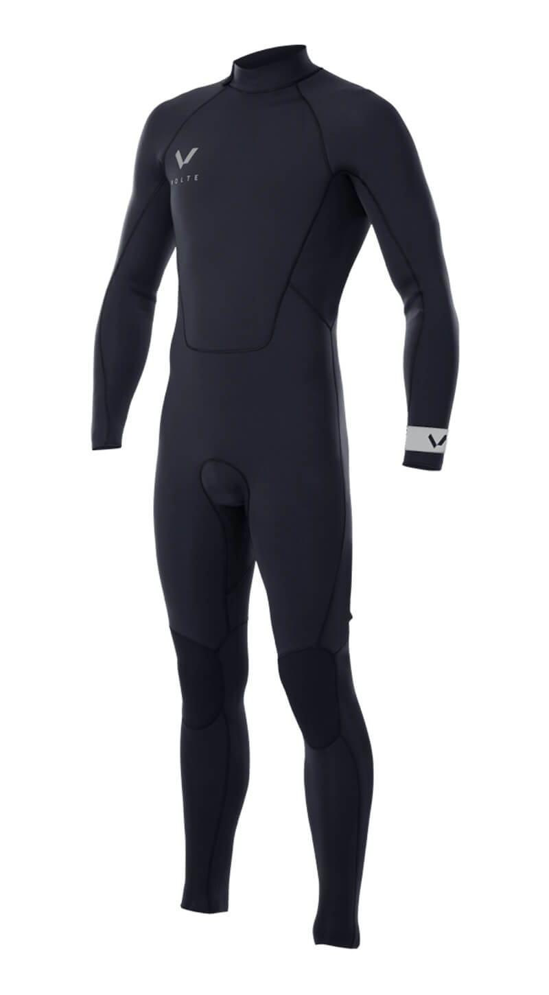 Mens Premium 3x2 Back-Zip Steamer - Volte Wetsuits Australia