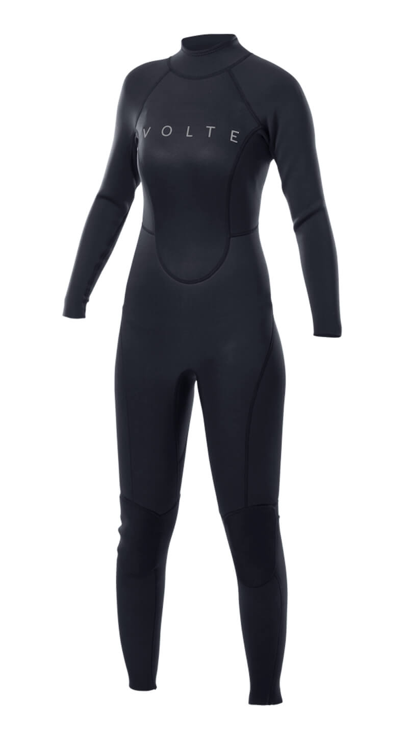 Womens Vital 4X3 Back-Zip Steamer - Volte Wetsuits Australia