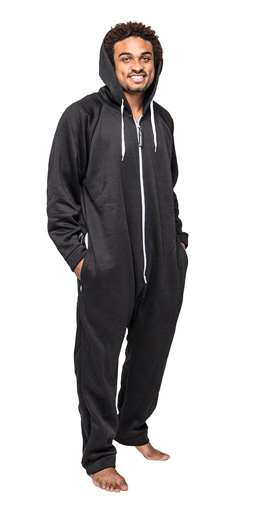 Kick Back Black Onesie