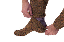 Load image into Gallery viewer, Laid-back Leopard  Onesie - Detachable Feet
