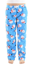 Load image into Gallery viewer, Women's Fleece Pants - Snowman