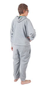 Kids Asleep on the Job Gray Onesie