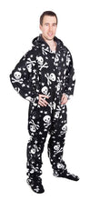 Load image into Gallery viewer, Numb-Skulls Onesie - Detachable Feet