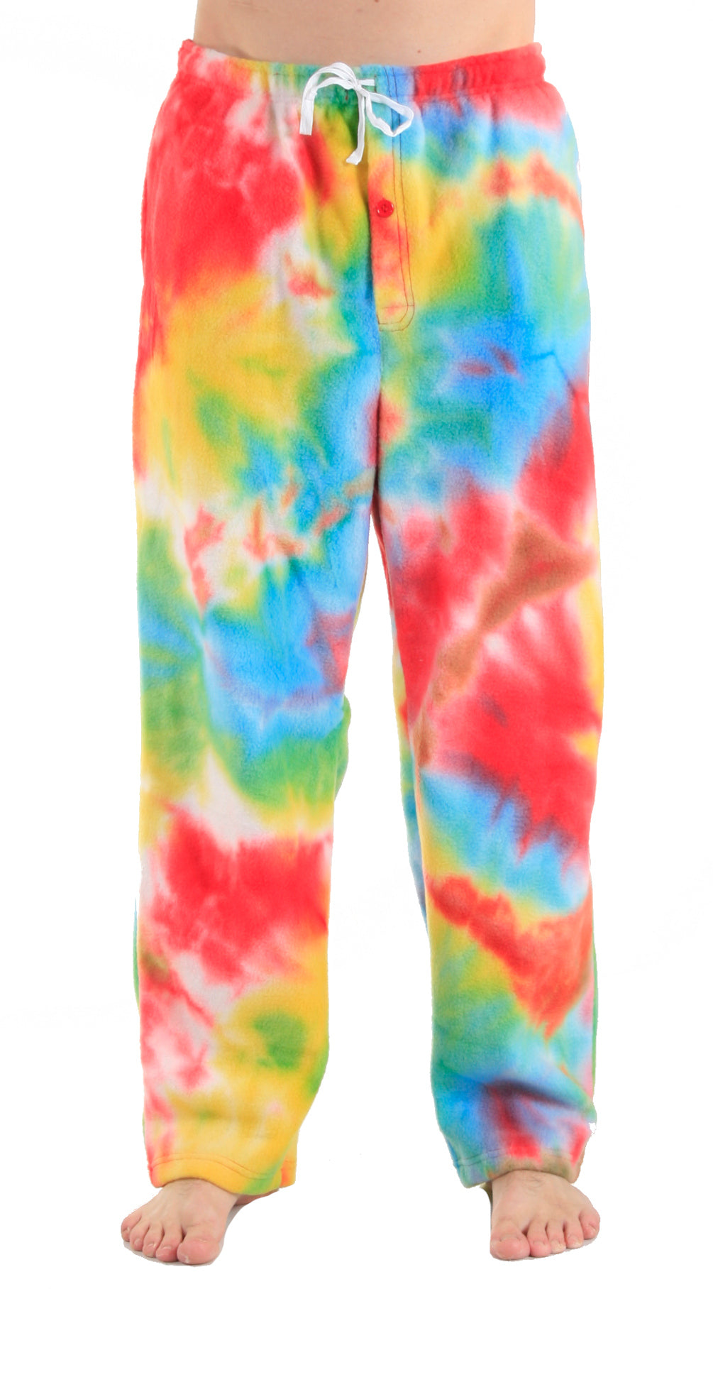 Men's Fleece Pants - Tie Dye