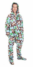 Load image into Gallery viewer, Big Chimpin' Onesie - Detachable Feet